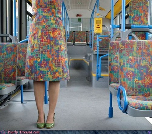 bus,camouflage,disguise,dress