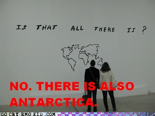 antarctica continents hipster photography hipsterlulz Maps - 6061985280