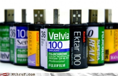 35mm camera film roll flash drive g rated monday thru friday negatives thumb drive
