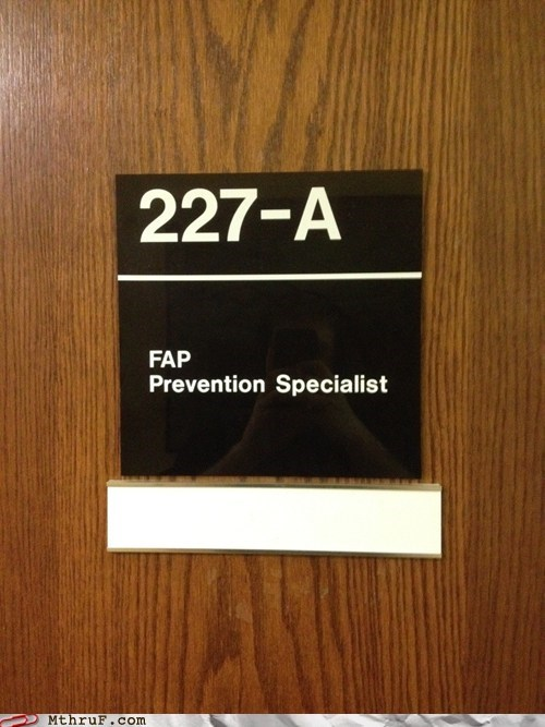 bang board room door fap knocking prevention specialist