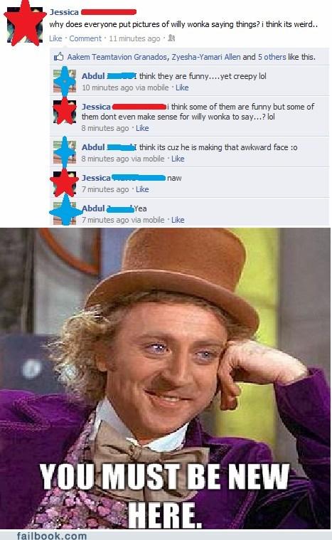 irony Memes wonka