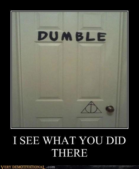 dumbledore Harry Potter hilarious i see - 6062799872