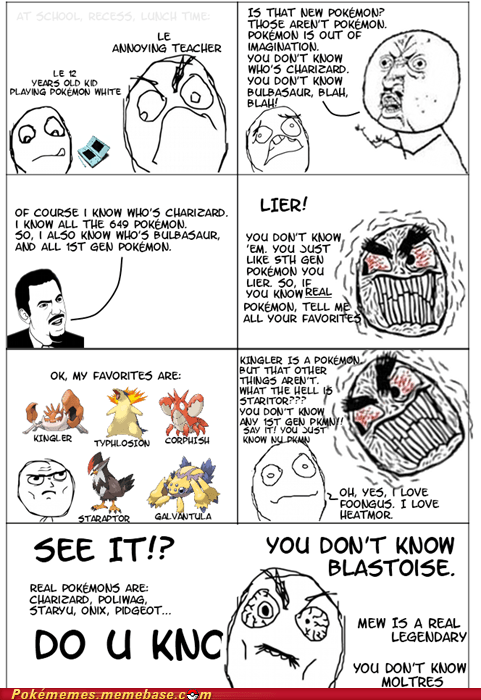 1st gen 5th gen enjoy favorites haters rage comic Rage Comics stop arguing - 6062849024