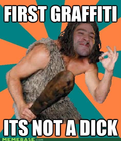 art Caveman Good Guy Greg graffiti grog stog