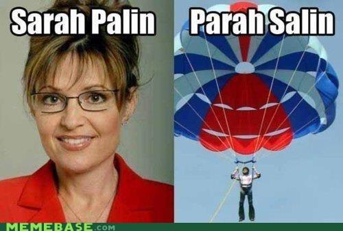 Memes parasail puns repost russia Sarah Palin - 6063095552