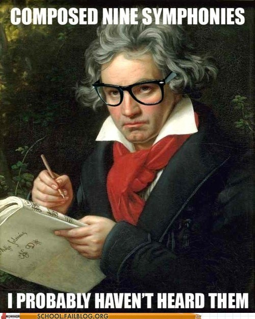 Beethoven hipster beethoven nine symphonies - 6063272960