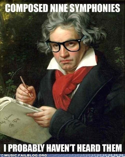 Beethoven deaf hipster beethoven - 6063277056