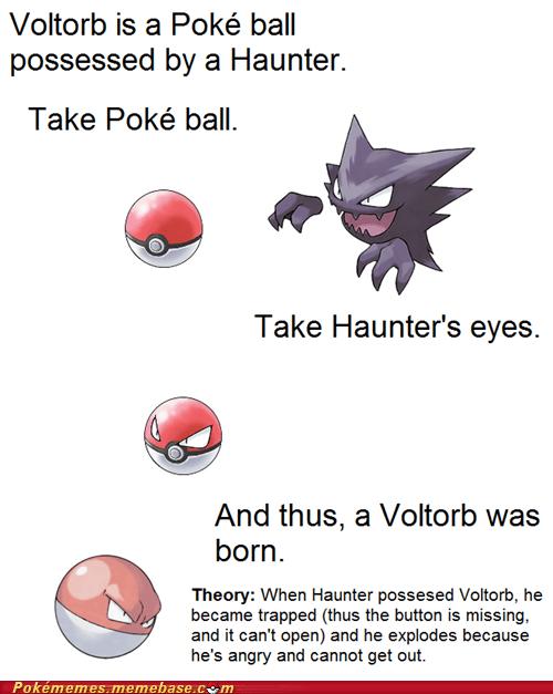 explosion haunter Memes Pokémemes theory trololo voltorb - 6063285248