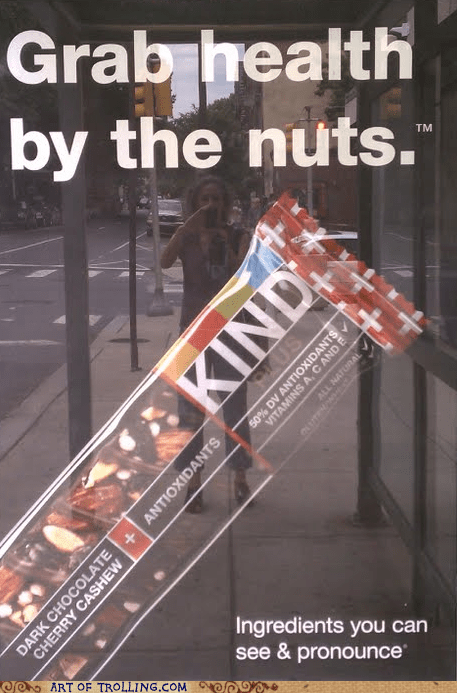 bar IRL nut sign that sounds naughty - 6063417344