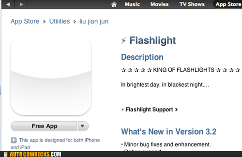 app of the week flashlight Green lantern superheroes - 6063611904