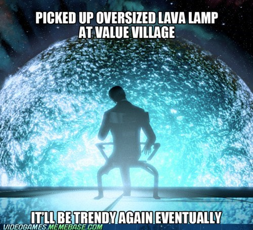 hipster illusive man lava lamp meme trendy value village