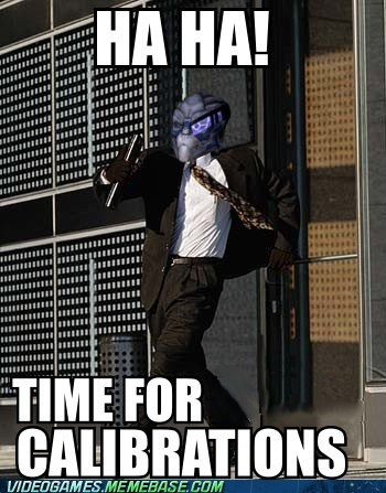 calibrations Garrus meme normandy time for business video games