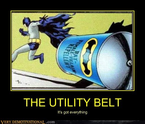 batman everything hilarious utility belt