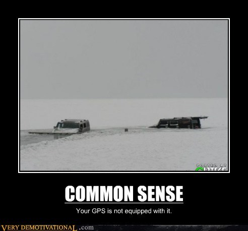 bad idea common sense gps hilarious - 6064418816