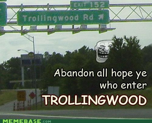 hope vanished IRL road troll face trollingwood - 6065075456