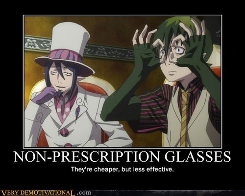 anime glasses hilarious non perscription wtf - 6065086976