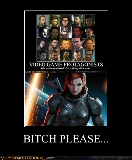 hilarious mass effect 3 men sheperd woman - 6065235456