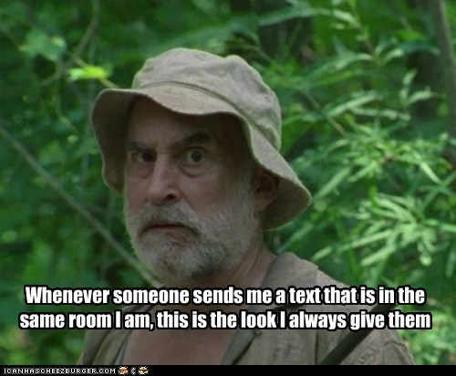 actor amc celeb funny gpoy Jeffrey DeMunn The Walking Dead TV - 6065246720