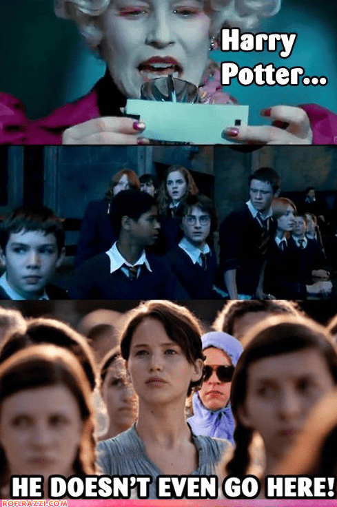 funny Hall of Fame Harry Potter mean girls Movie hunger games - 6065345792