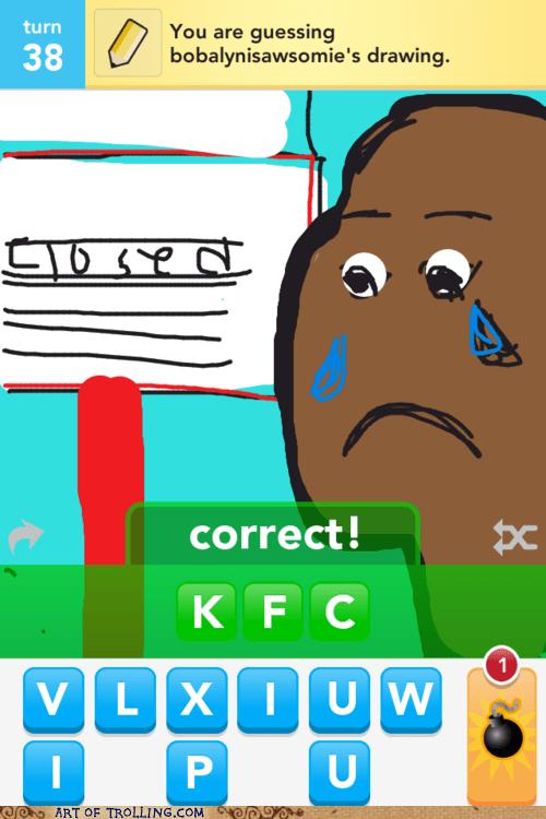 draw something kfc racism - 6065387264