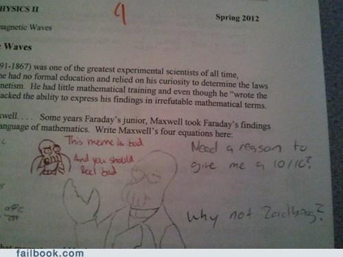 troll teacher why not zoidberg Zoidberg - 6065467904