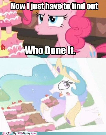 celestia,comics,mystery,pinkie pie,who done it