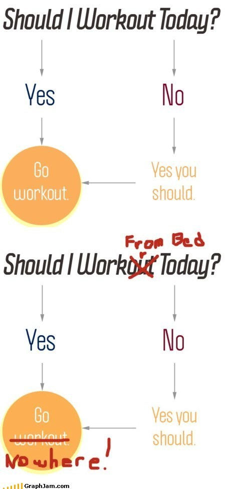 exercise fixed flow chart lazy workout