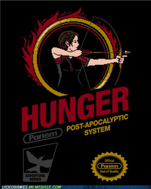crossover hunger games NES panem retro - 6065911552
