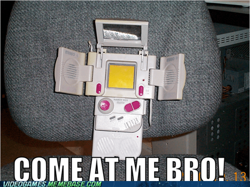 come at me bro gameboy meme nintendo peripherals - 6065989120