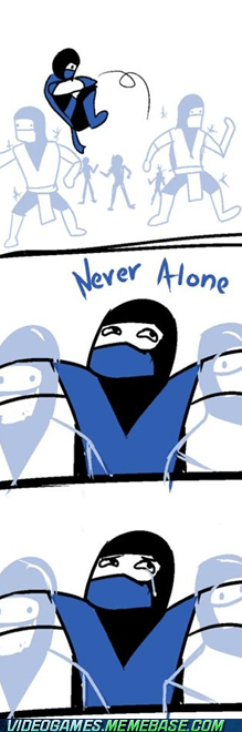 comic copies forever alone Mortal Kombat subzero - 6066083584
