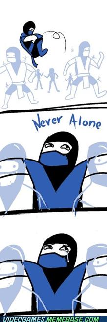 comic copies forever alone Mortal Kombat subzero - 6066083584