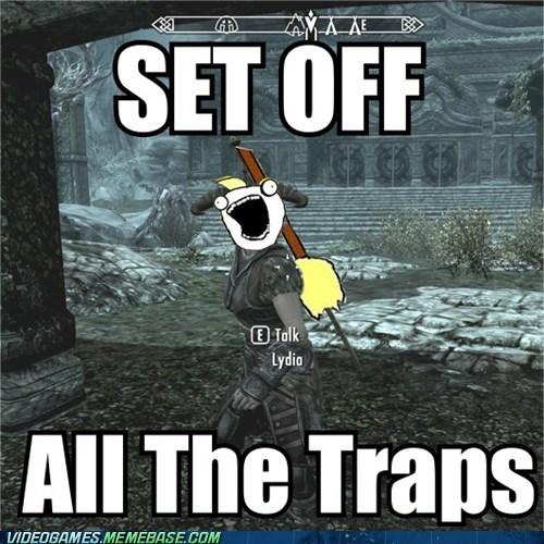 all the things lydia meme Skyrim - 6066114048