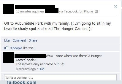 books,common sense,hunger games,movies