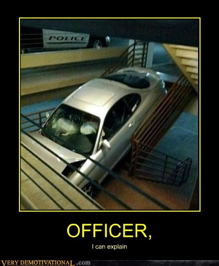 car,idiots,officer