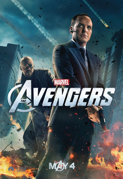 agent coulson character posters clark gregg marvel movies poster The Avengers - 6066365952