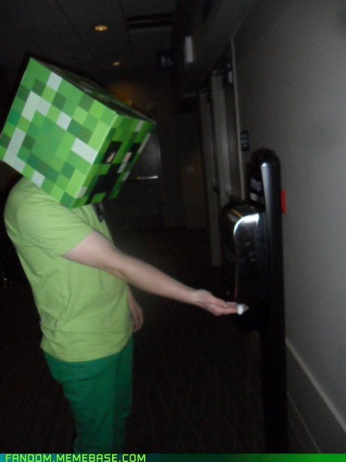 cosplay creeper minecraft - 6066723328