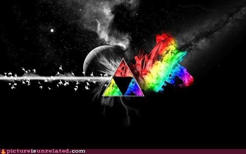 best of week Dark Side of the Moon triforce wtf zelda - 6067095808