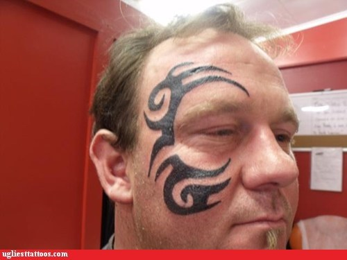 face tattoos,mike tyson,The Hangover