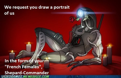 draw me like one of your french girls legion mass effect meme - 6067520512