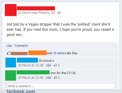 parents proud moments strip club