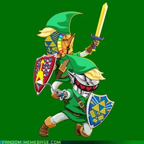 crossover daft punk Fan Art the legend of zelda video games - 6068428544