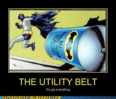 batman repellent Super-Lols utility belt - 6068486400