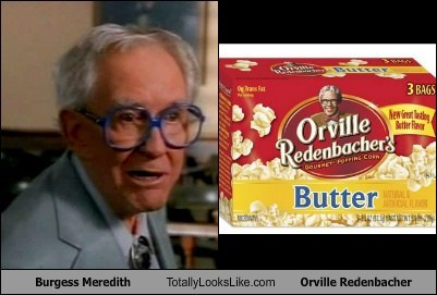 actor burgess meredith celeb funny orville redenbacher TLL - 6068652032
