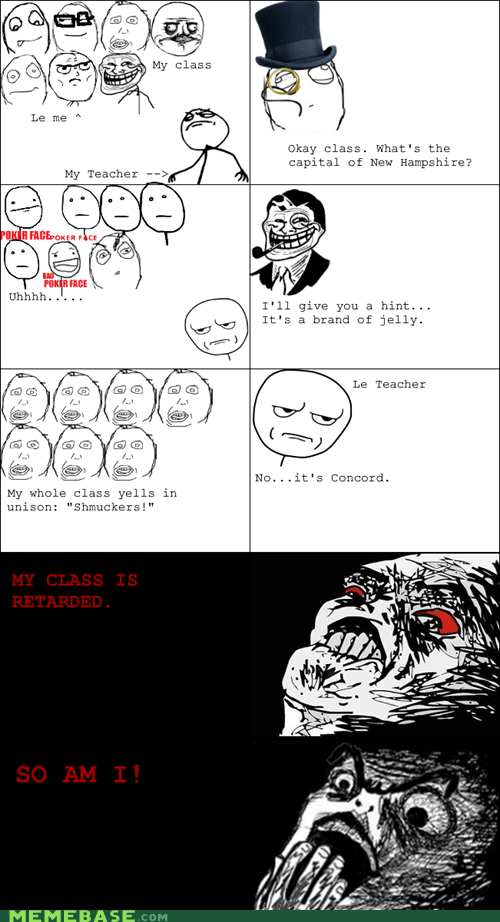 jelly Rage Comics raisin horror raisin rage truancy story - 6068882432