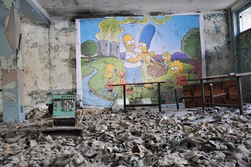 chernobyl simpsons - 6068957184