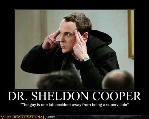 big bang theory hilarious Sheldon Cooper supervillain - 6069033472