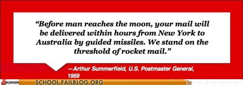 expectations postmaster general rocket mail - 6069368576