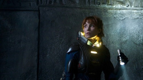 movies,Noomi Rapace,prometheus,Ridley Scott,set pics,stills