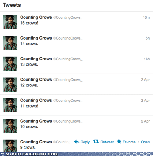 counting crows literal twitter - 6069668608
