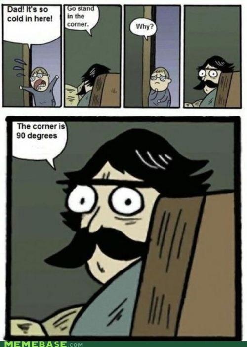 cold corner degrees stare stare dad - 6069981184